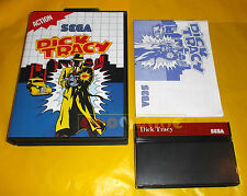 DICK TRACY Sega Master System Versione Europea PAL ○○○○○ COMPLETO - BE