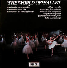 SPA 55 The World Of Ballet Ansermet Lanchberry etc NM/EX Decca Stereo LP