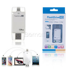 128GB G USB Flash Drive Memory Stick Thumb for iPhone 5 7 6 6s plus iPad Android