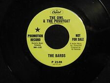 THE BARDS The Owl and the Pussycat CAPITOL DJ M-  listen!! GARAGE/PSYCH
