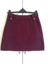 Topshop , Wool A-Line Mini Skirt , UK Size 16 , RRP - £38  ( LAST ONE )