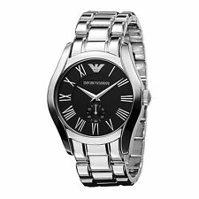 NWT Emporio Armani Silver Stainless Steel Ladies Watch AR0695 MSRP $245