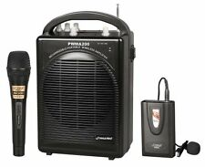 PylePro Rechargeable Portable PA System with Wireless Lavalier/Headset MIC and 1