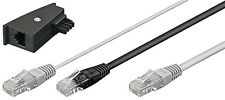 Fritz!Box Y Kabel DSL Internet RJ45 Y Kabel TAE Adapter FritzBox DSL Router 3m