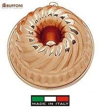 Ruffoni: schimmel pudding in kupfer verzinntem kupfer cm durchmesser 23 cm.