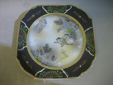 Vintage Foreign Japanese hand painted decorative plate / saucer