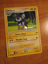 NM PRERELEASE Pokemon LUXIO Card DIAMOND AND PEARL Set 52/130 Promo Stamped DP