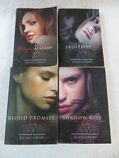 Lot of 4 Richelle Mead VAMPIRE ACADEMY NOVELS Razorbill  FROSTBITE SHADOW KISS