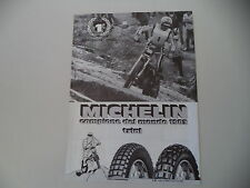 advertising Pubblicità 1983 MICHELIN e EDDY LEJEUNE e HONDA TRIAL