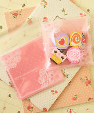 Doily Dots Pink cello cookie bags kawaii plastic sweet candy packaging gift wrap