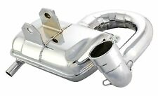 VESPA P200E / PX200 E SIP ROAD RACING EXHAUST CHROME