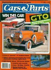 1987 Cars & Parts Magazine: 1970 Pontiac GTO/1929 Oldsmobile F-29/ '41 Fastback