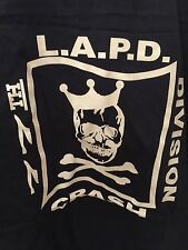 LAPD Los Angeles Police LASD  GANG shirt 77 ST T Size XL BLUE