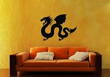 Wall Stickers Vinyl Decal Chinese Dragon Mythical Animal Legend ig211