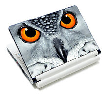 """Owl eye Decal Sticker Skin For 13.3"""" 14"""" 15"""" 15.6"""" Sony HP Dell Acer Laptop"""