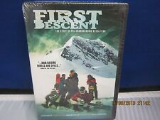 FIRST DESCENT DVD Snowboading revolution New SealedNBO SuperFastShipping+Trackin