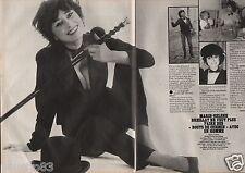Coupure de presse Clipping 1982 Marie Hélène  Breillat  (2 pages)