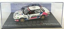1/43 SUBARU LEGACY RS-ALEN-RALLYE SUEDE 1991-RALLY SWEDEN-IXO CAR COLLECTION
