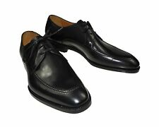 NIB CANALI 1934 Black Shoes 7 (40) Goodyear Construction, Hand-made in Italy