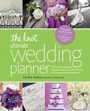The Knot Ultimate Wedding Planner by Carley Roney (2013, Paperback)