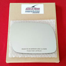 NEW Mirror Glass 04-07 VOLKSWAGON TOUAREG Passenger Side - AUTO DIM FIT OVER
