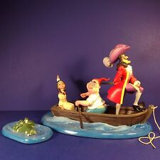 WDCC Disney AN IRRESISTIBLE LURE Peter Pan w/ box Captain Hook Smee Tiger Lily