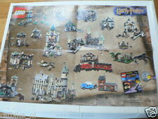 LEGO BROCHURE FLYER CATALOG TOYS 2002 HARRY POTTER DUTCH 4 PAGES 108