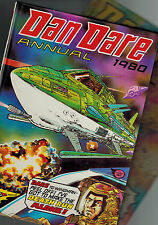 DAN DARE ANNUAL 1979 and 1980 from Eagle comic