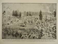1914 2ND WORCESTERS RECAPTURE GHELUVELT CHATEAU AND VILLAGE YPRES WWI WW1