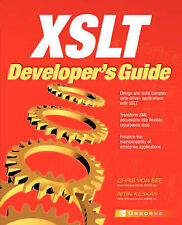 XSLT Developers Guide (Application Development),GOOD Book