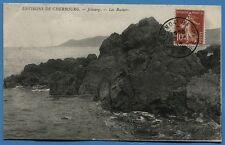 CPA: Environs de Cherbourg - Jobourg - Les Rochers / 1914
