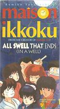 Maison Ikkoku All Swell That Ends(In A Well)  VHS New Sealed Rumiko Takahashi's