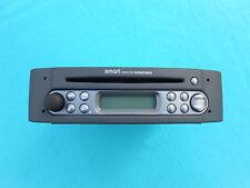 Grundig Smart ForTwo 450 CD Radio Autoradio mit Code und Entriegelungsbügel
