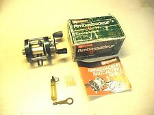 VINTAGE ABU GARCIA AMBASSADEUR FISHING REELS W/ BOX - MODEL 5000-D  ,BEAUTIFUL
