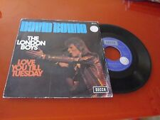 DAVID BOWIE RARE FRENCH SP THE LONDON BOYS PROMO