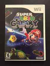 Super Mario Galaxy (Nintendo Wii, 2007) - Case and Disc TESTED FREE SHIPPING