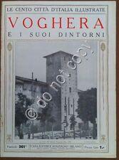 Le cento città d'Italia illustrate - n° 261 - Voghera e i suoi dintorni