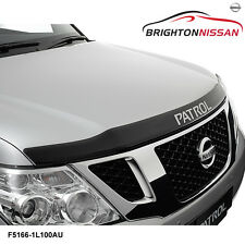 New Genuine Nissan Patrol Y62 Bonnet Protector Smoked F51661L100AU RRP $91