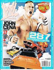 WWE December 2007 Wrestling Magazine John Cena Survivor Series tna wrestler