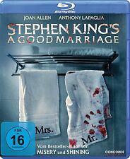 Stephen King's A Good Marriage Anthony LaPaglia, Joan Allen, Peter Askin BLU RAY