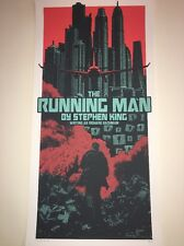 Stephen King The Running Man LE Signed Movie Poster Art Print