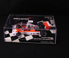 Minichamps F1 Mc Laren Ford M23 Hunt Ed 43 n°70 1977 1/43  boxed / en boîte MIB