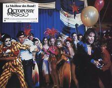 JAMES BOND 007 ROGER MOORE MAUD ADAMS OCTOPUSSY 1983 VINTAGE LOBBY CARD #2
