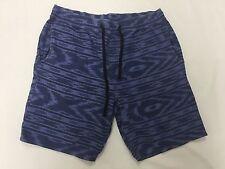 O'Neill Men Blue Volley Walkshorts Shorts Sz Medium RP: $49.50
