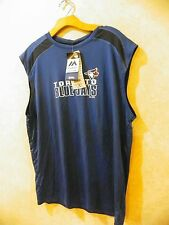 Majestic MBL Men's Toronto Blue Jays Quick Pitch Sleeveless Top Shirt ______R6-1
