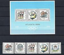 Palestine authority 1996 Olympic Atlanta 1996 5V + S/S