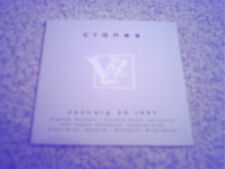 CRANES - ANCIENNE BELGIQUE (NEW LIMITED EDITION PROMO CD)