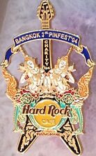 Hard Rock Cafe BANGKOK 2004 3rd PINfest PIN FEST Charity Guitar - HRC #25403