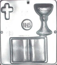 First Communion Religious Chocolate Candy Mold  409 NEW