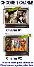 Wizard of Oz Custom Italian Charm Dorothy, Tinman, Scarecrow, Lion, BEST!